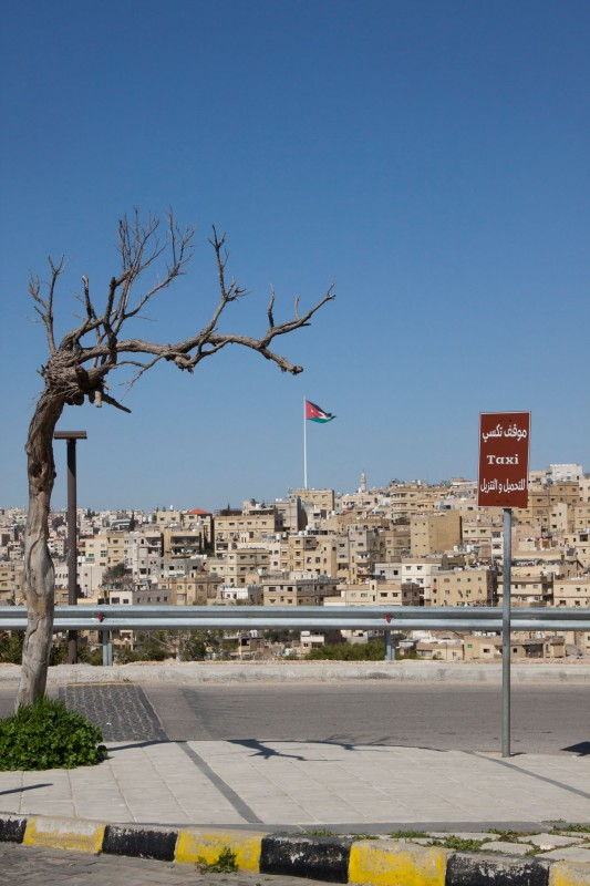 Amman is home to the 127 meter high Raghadan Flagpole – at its construction in 2003 it was the largest freestanding flagpole in the world.